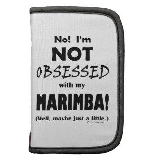 Marimba obsesionado organizadores