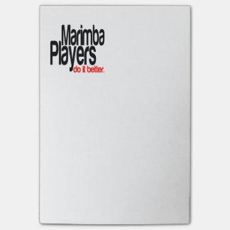Marimba Players Do It Better Post-it Notes