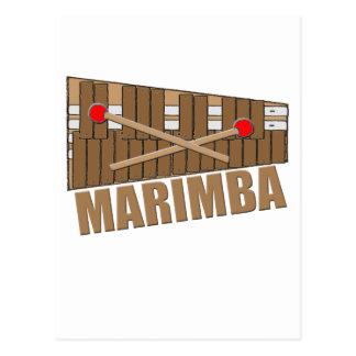 Marimba Postcard