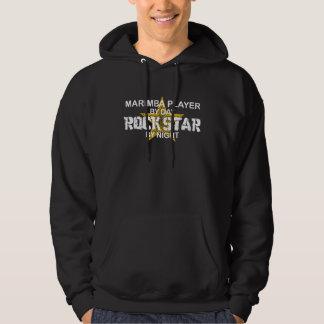 Marimba Rock Star by Night Sweatshirt