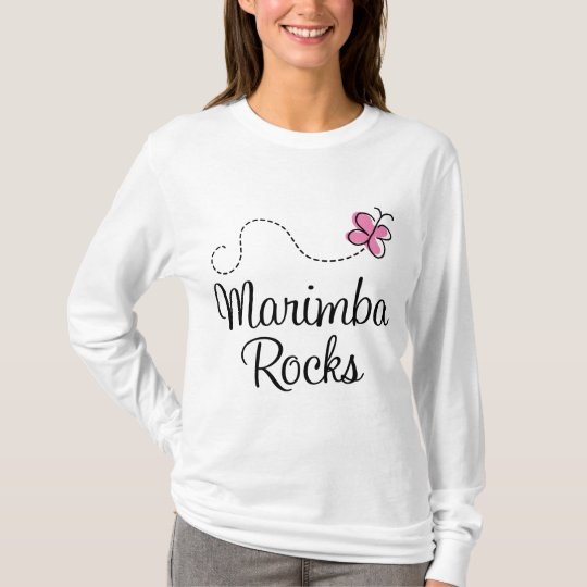 Marimba Rocks music T-Shirt