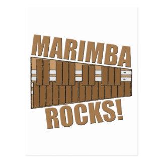 Marimba Rocks! Postcard