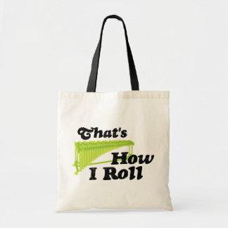 Marimba - That's How I Roll Tote Bag
