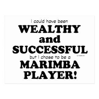 Marimba Wealthy & Successful Postcard