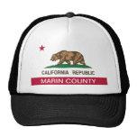Marin County California Trucker Hat