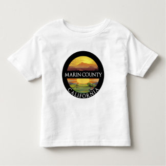 Marin County Mount Tamalpais Toddler T-shirt