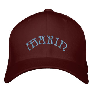 MARIN EMBROIDERED BASEBALL CAP