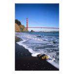 Marin Headlands, Golden Gate Bridge; San Photo Print