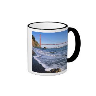 Marin Headlands, Golden Gate Bridge; San Ringer Mug