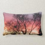 Marin Midwinter Sunset - Lumbar Throw Pillow