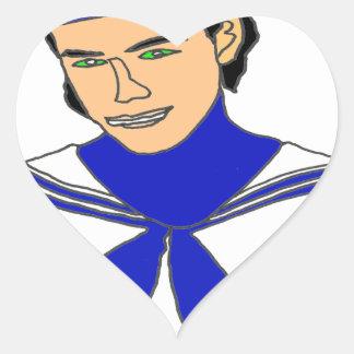 MARIN.png Heart Sticker