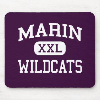 Marin - Wildcats - Catholic - Kentfield California Mouse Pad