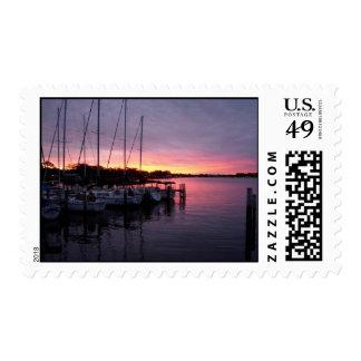Marina 3 postage stamp