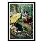 Marina and the Dragon Greeting Card