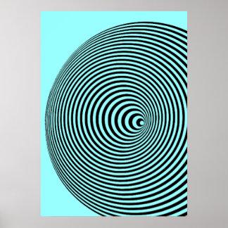 Marina Apollonio (Blue) Poster