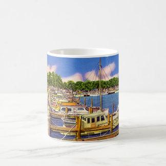 Marina at Fort Myers, Florida Coffee Mug