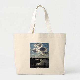 Marina at Late Day Jumbo Tote Bag