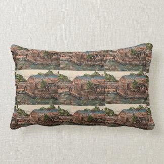 """Marina at Portside, Kelley's Island  Pillow"