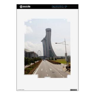 Marina Bay Sands and Singapore Flyer Skin For The iPad 2