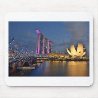 Marina Bay Sands luxury hotel Singapore Mouse Pad