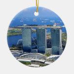 Marina Bay Sands luxury ship shaped hotel Ornaments