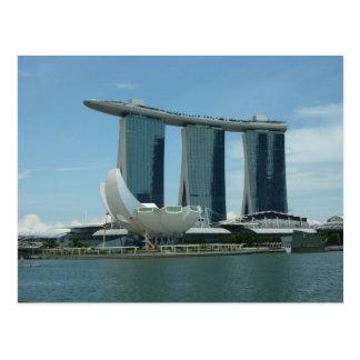 Marina Bay Sands Singapore Postcard