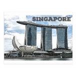 Marina Bay Sands - Singapore Postcard