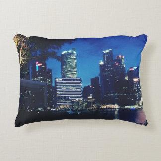Marina Bay - Singapore Accent Pillow