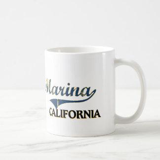 Marina California City Classic Mugs