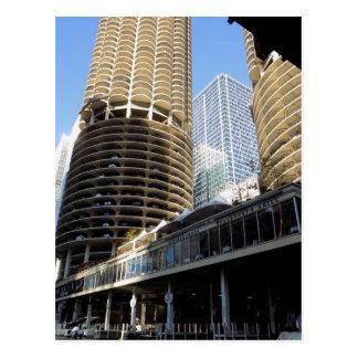 Marina City - Chicago Postcard