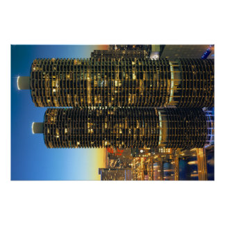 Marina City Chicago Posters