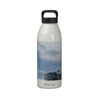 Marina de guerra botella de agua