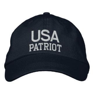 Marina de guerra bordada patriota de los gorra bordada