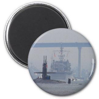 Marina de guerra de las naves nucleares de los sub imán redondo 5 cm