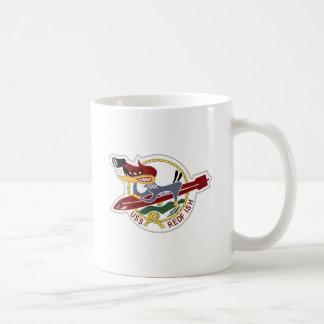 Marina de guerra del remiendo de los SALMONES de Taza De Café