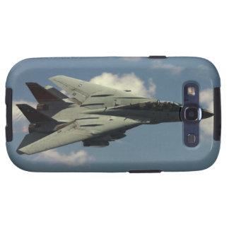 Marina de guerra F-14D Tomcat Galaxy SIII Protectores