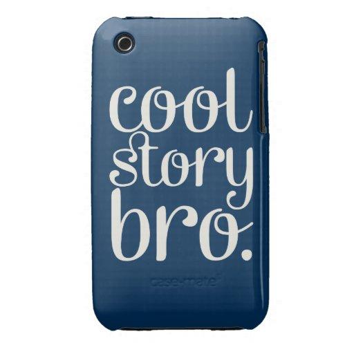 Marina de guerra fresca de Bro de la historia Case-Mate iPhone 3 Coberturas