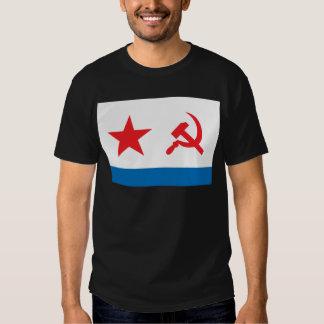 Marina de guerra Jack de URSS Camisas