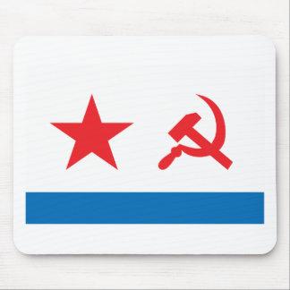 Marina de guerra Jack de URSS Alfombrillas De Raton