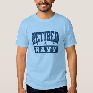 Marina de guerra jubilada remeras