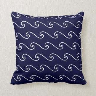Marina de guerra ondulada almohada