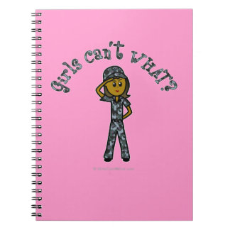 Marina de guerra oscura (uniforme del azul) note book