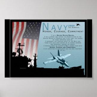 Marina de guerra póster