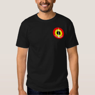Marina de guerra Roundel de Bélgica Camisas