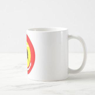 Marina de guerra Roundel de Bélgica Taza De Café
