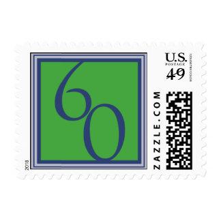 Marina de guerra sesenta sello