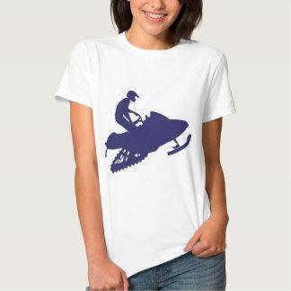 Marina de guerra-Snowmobiler Playeras