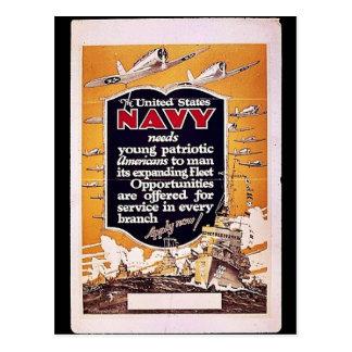 Marina de guerra postales