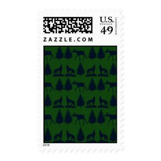 Marina de guerra verde rústica salvaje de los sellos