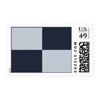 Marina de guerra y rectángulos grises sellos